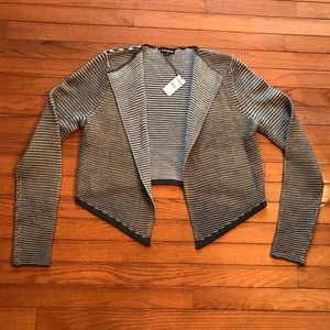 Express Asymmetrical Open Cardigan